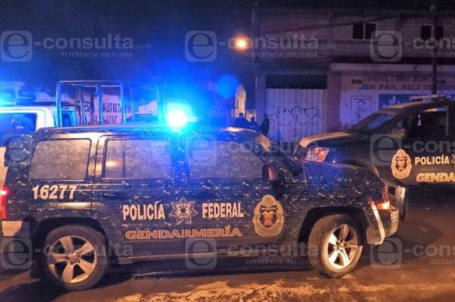 Atacan en Huixcolotla a miembros de la Gendarmería; hay 1 muerto
