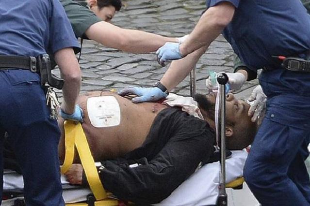 Difunden fotografía del atacante del Parlamento Británico