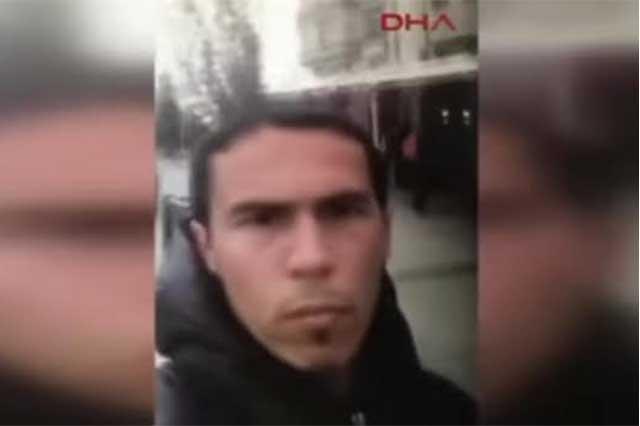 Publican video del atacante del club nocturno de Estambul