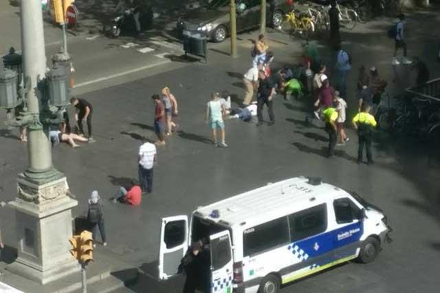 Confirman que no hay mexicanos entre las víctimas del ataque en Barcelona