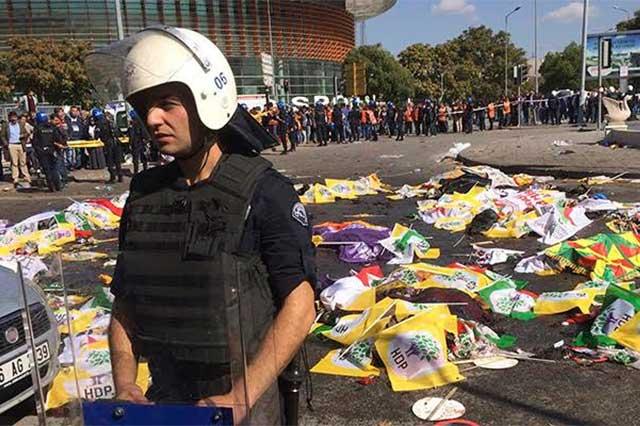 Ataque con bombas en Turquía deja un saldo de 86 muertos