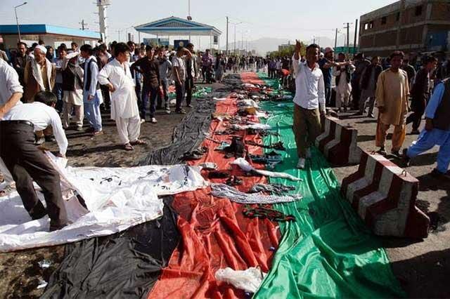 Aumenta a 80 el número de muertos en ataque suicida en Kabul