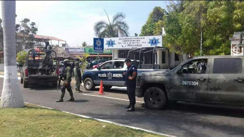 Atacan módulo de policías; hay 3 muertos y 2 heridos