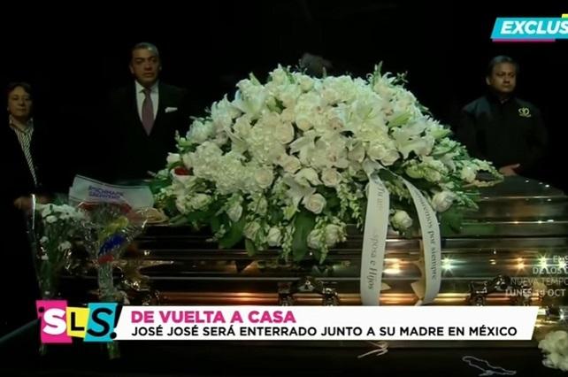 ¿Cuánto costó el ataúd de José José para funeral de Miami?