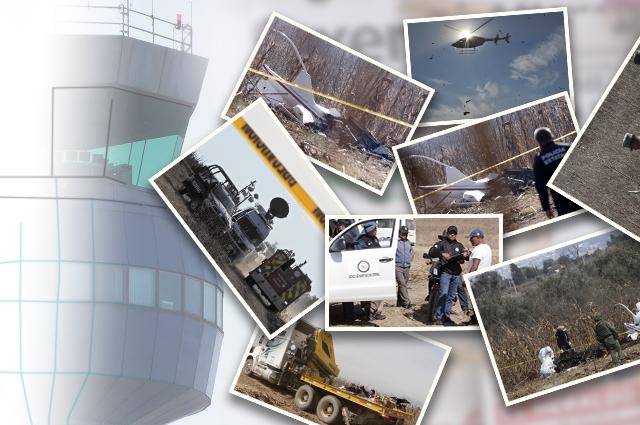 Descarta la SCT atentado o error por helicopterazo en Puebla