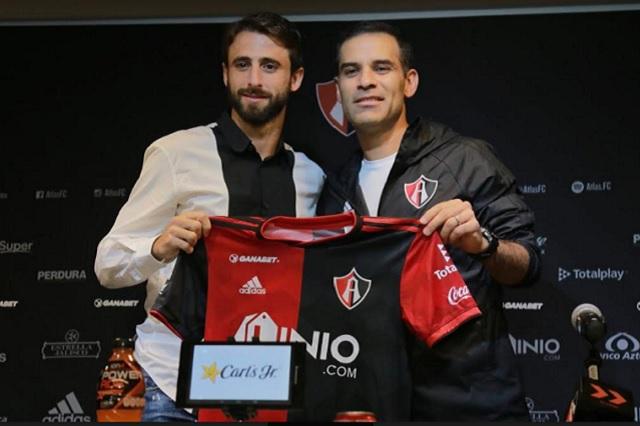Invitado por Rafa Márquez, llega Nicolás Pareja al Atlas