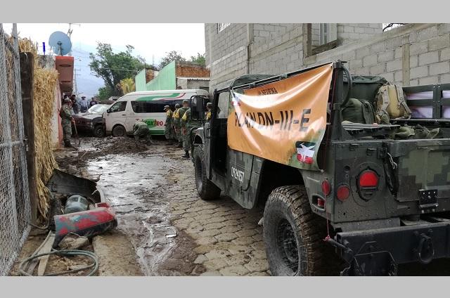 Señalan posibles riesgos por desastres naturales en región de Tehuacán