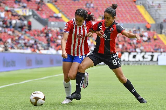 Nada para nadie: Atlas y Chivas femenil empatan sin goles en semifinal