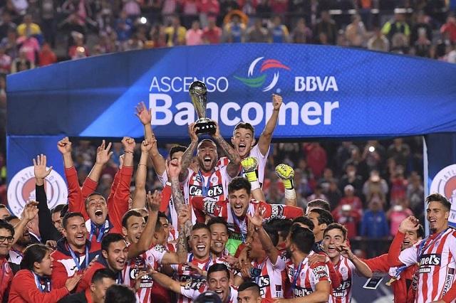 Atlético San Luis es campeón del Ascenso MX