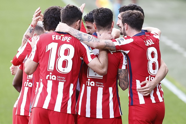 Atlético de Madrid más líder que nunca; Héctor Herrera jugó la segunda mitad