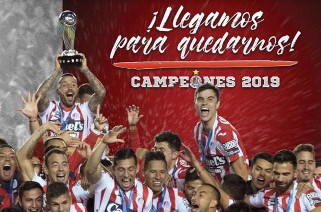 Atlético San Luis llega y suple a Veracruz en la primera división