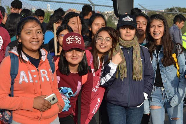 Estudiantes BUAP en Jornada Intensa de Trabajo en Atlixco