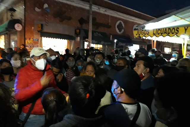 Comerciantes de Atlixco incumplen acuerdos para venta de Todos Santos