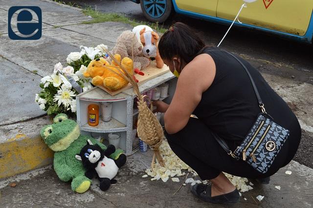 Bebé de 17 meses muere atropellada en Totimehuacán