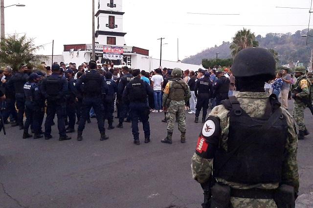 Reunión contra inseguridad casi acaba en linchamiento en Metepec