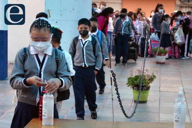 Suman 10 los contagios de covid en escuelas de Puebla: Salud