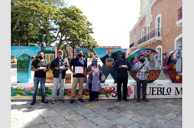Promotores de la cultura de Tochimilco reciben reconocimiento