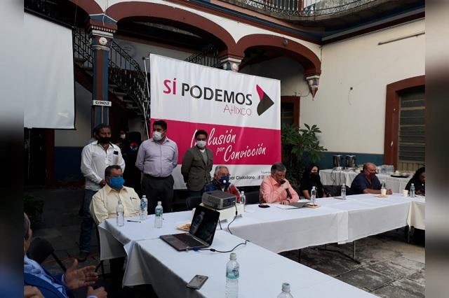 Crean bloque político en Atlixco contra reelección de Memo Velázquez
