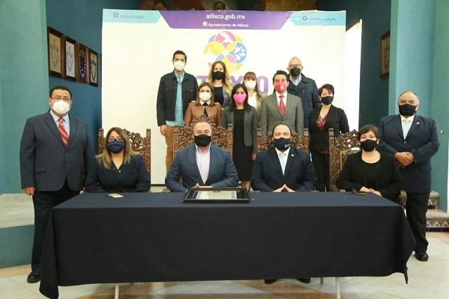 Se van 5 regidores de Atlixco para participar en elecciones 2021