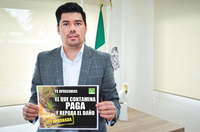 Partido Verde  apoya  convenio a favor de sanear el Atoyac