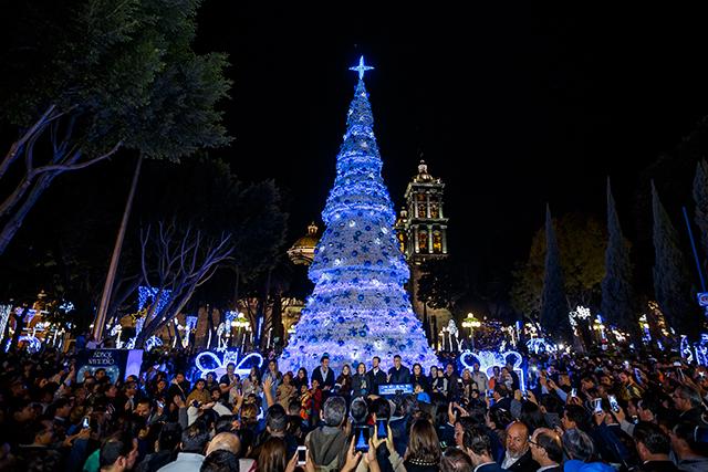 El ayuntamiento de Puebla rompe récord con atracciones navideñas