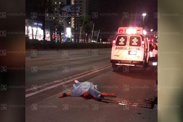 Beetle atropella y mata a un joven frente a La Vista