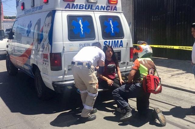 Por falta de pericia conductor atropella a tres mujeres