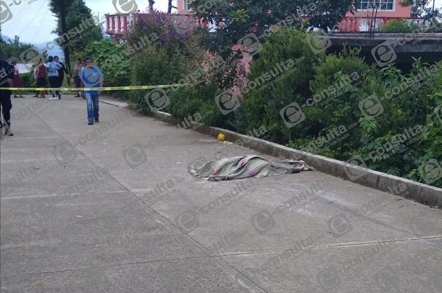 Atropellan y matan a sexagenaria en Chiconcuautla