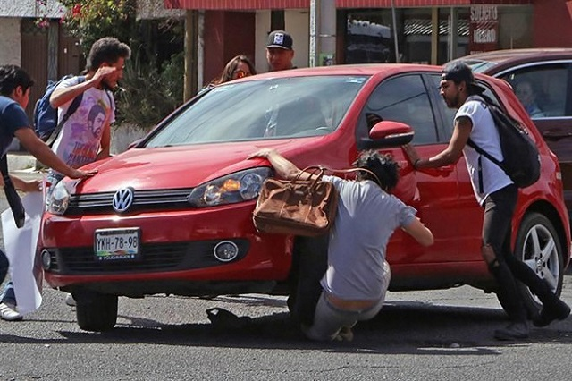 Identifica FGE a conductor que arrolló a estudiante BUAP