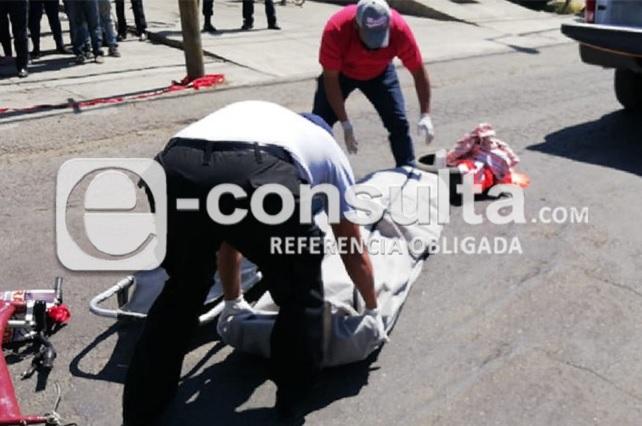 Muere ciclista atropellado por ruta 38-A en colonia Solidaridad