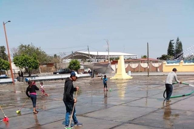 Prevén medidas para migrantes que llegan a Atzitzihuacan