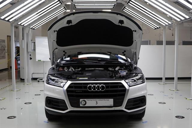 Cae 42.5 % producción de Audi en enero por semiconductores