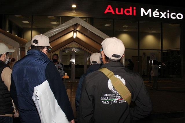 Acepta Audi revisión del municipio de San José Chiapa