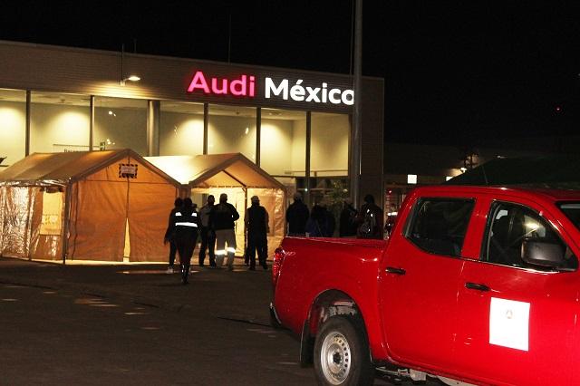 Audi ya debe pagar impuestos, advierte Barbosa Huerta