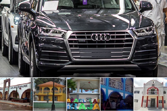 Reciben migajas de obras los municipios Audi en Puebla