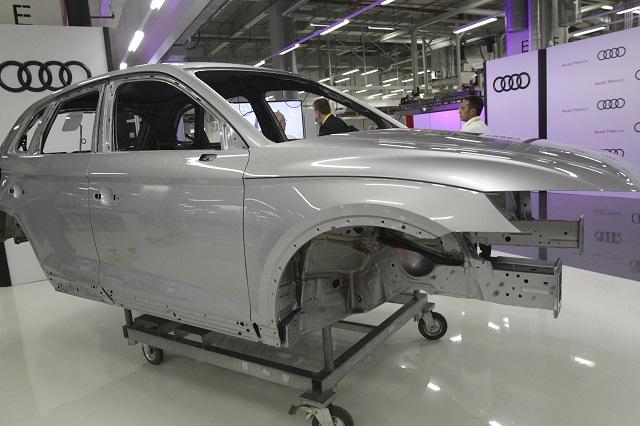 Caen hasta 42% exportaciones de Audi y VW de enero a septiembre