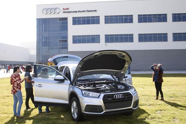 Confirma Audi paro de actividades hasta el 13 de abril