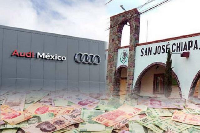 Audi se niega a pagar 70 mdp por uso de suelo en Chiapa