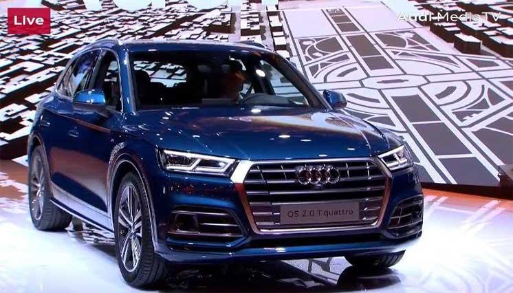 Presentan en París la primera Audi Q5 ensamblada en Puebla