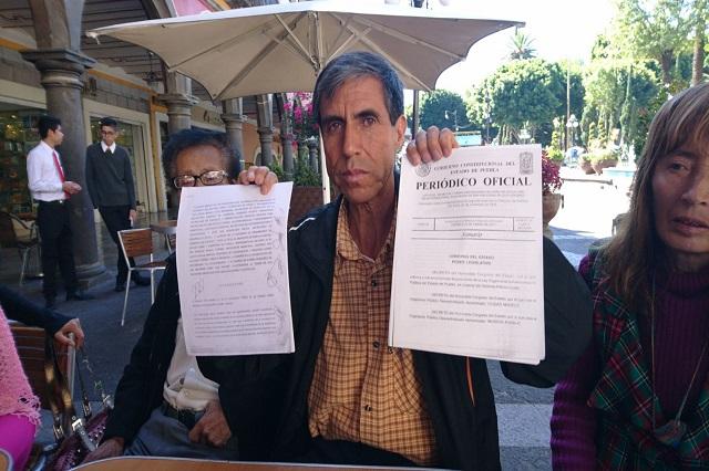 Rechazan municipios Ciudad Modelo; Nopalucan solicita amparo federal