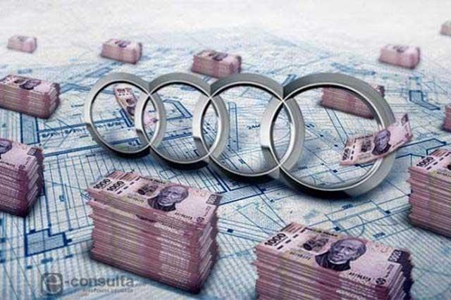 Subsidia gobierno federal a Audi con 40.3 mdp sólo este año