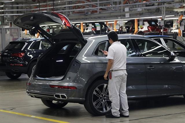 Supera Audi en 15 mil vehículos meta de producción de 2018