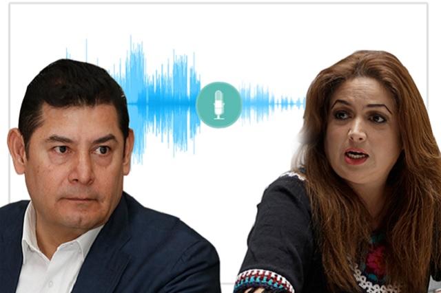 Nuevos audios incriminan a Armenta; él rechaza acusaciones