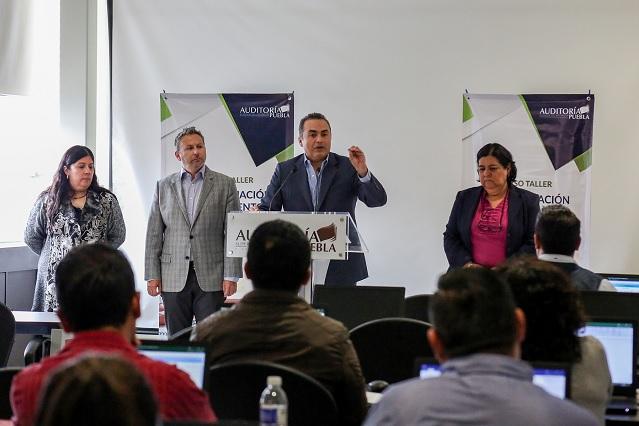 ASE capacita a municipios en temas de la entrega-recepción