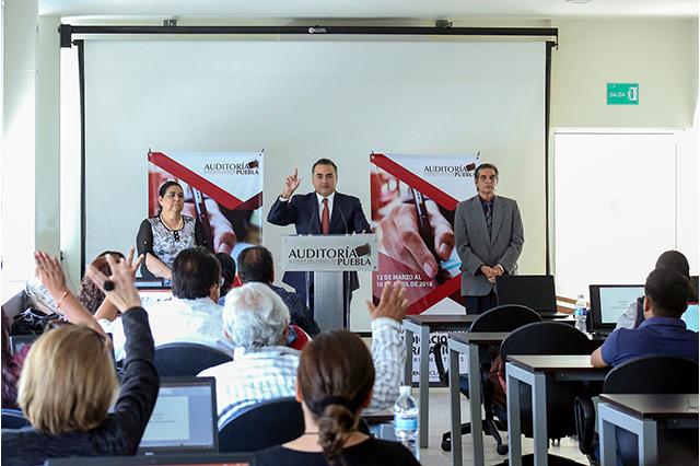 La Auditoría Puebla capacita a los 217 municipios del estado