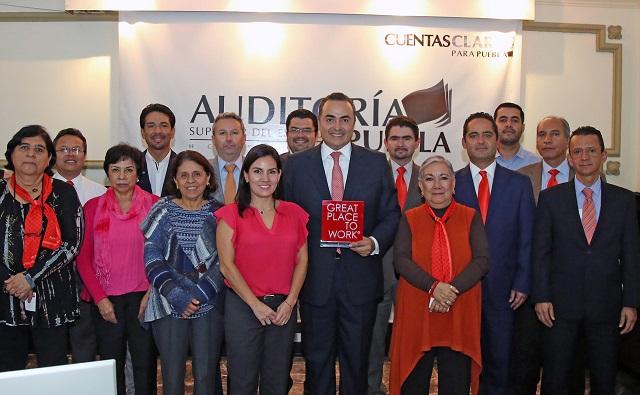 Auditoría Puebla capacita a su personal en alianza con GPTW