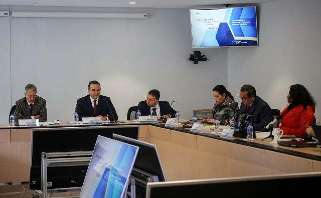 Auditoría Puebla coordina sesión de trabajo con la ASF