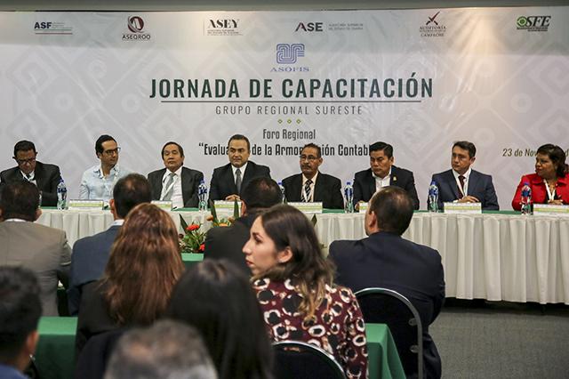 Auditoría Puebla preside Reunión Regional de Capacitación ASOFIS