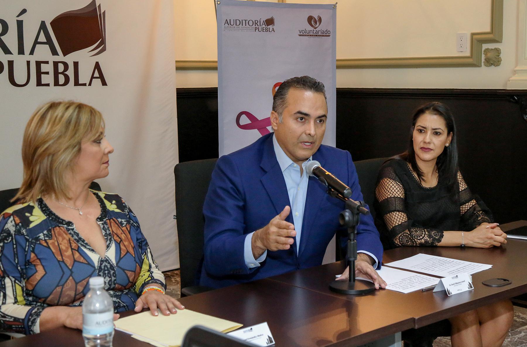 Auditoría Puebla y DIF estatal apoyan programa de voluntariados internos