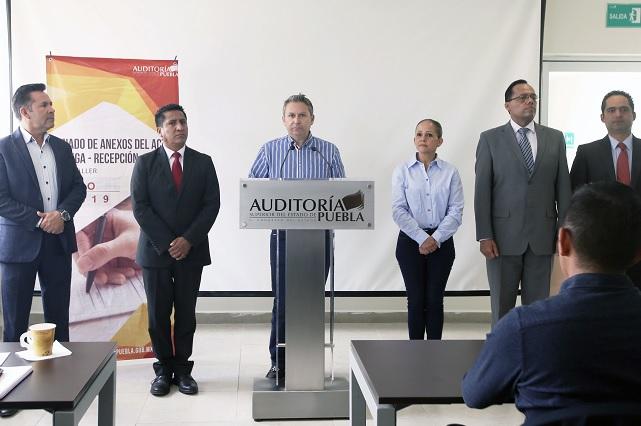 Inicia ASE capacitación para entrega-recepción en Concejos Municipales